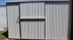 Custom storage sheds